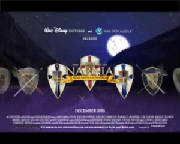 Shield Design Narnia Wallpaper